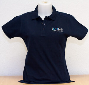 Polo-Shirt Damen (blau)